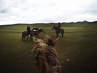 Mongolia dusts