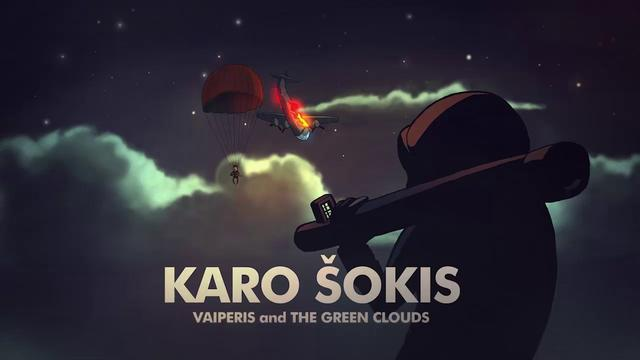 Vaiperis and The Green Clouds - Karo Šokis (Official Video)
